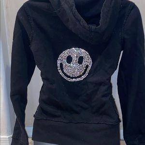 Twisted Heart black hoodie